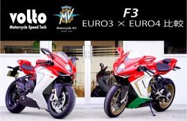 MVアグスタF3 EURO3EURO4比較