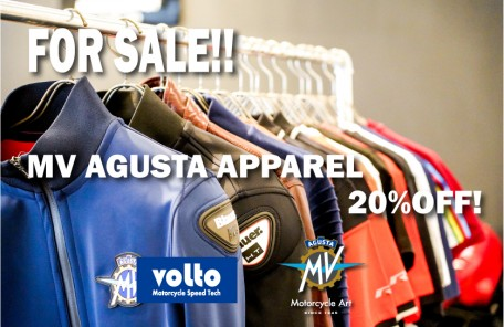 MV AGUSTA APPAREL 20%OFF